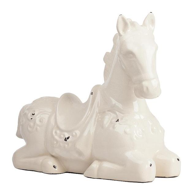 Предмет декора статуэтка лошадь Parada Blanco